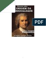 ROUSSEAU, 1754  O DISCURO DAS DESIGUALDADES               .pdf