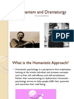 Humanism And Dramaturgy