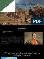 Unidad 2 Campaña de Independencia 1819 - Mariana Seguro