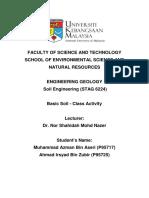 Basic-Soil Class-Activity P95717 P95725