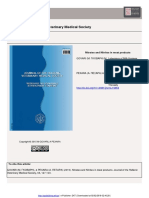 journal nitrite and nitrate in meat product