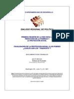 BID Focalizacion de La Proteccion Social a Los Pobres 618348