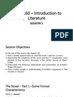 The Novel-session 5