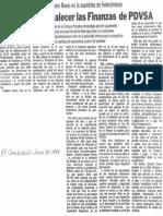 Edgard Romero Nava Necesario Fortalecer las Finanzas de PDVSA - El Carabobeño 27.06.1987