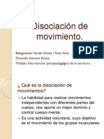 Disociación de Movimiento.