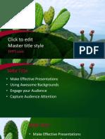 36. Cactus template.pptx