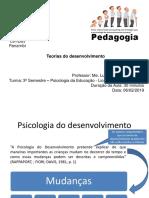 Psicologia do desenvolvimento - Psicanálise