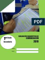 Evaluación diagnóstica COM 1° Grado Final