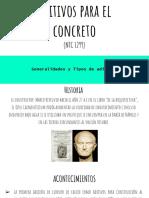 Aditivos para el concreto (expo)