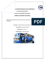 Enrrutamiento de Buses Urbanos Riobamba