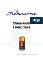 GT Energizers for the Classroom