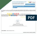 Certificado No Impedimento 1312233271