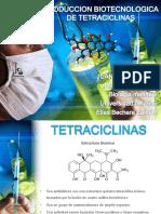 Produccion Biotecnologica de Tetraciclinas