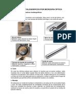 Análisis Metalográficos Por Microspia Óptica