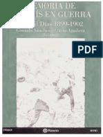 Gonzalo Sanchéz Mario Aguilera (Ed.) - Memoria de un país en guerra Los mil días (1899-1902).pdf