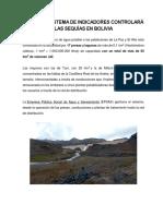 Un Nuevo Sistema de Indicadores Controlará Las Sequías en Bolivia