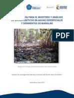 Protocolo microplasticos manglar