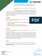 Perfil de Proyecto 2012