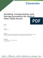Handling Transportation Storage Procedure