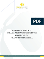 Proyecto Estudio de Mercado Para Un Centro Comercial en Tlajomulco
