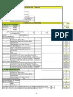 Cálculo Evaluación de Riesgo NTC 4552
