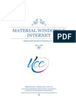 Material de Windows e Internet
