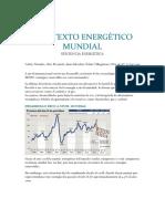 CONTEXTO ENERGÈTICO MUNDIAL