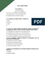 Quiz 1 Microeconomia