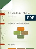 Taller Nutrición Clínica