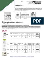 termostato convencionales