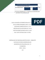 Estudio de Factibilidad - Investigacion de Mercados