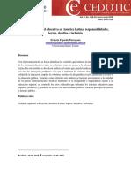 las reformas educativas en america latina