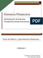 Gerencia Financiera Unidad 1