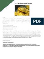 Documentos Importacion Uranio Completa