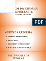 Marcos Da Reforma Protestante