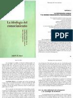 Mayo, Ariel - Cap 3 La Sociología Clásica y El Modelo Organicista-Funcionalista