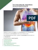 Pancreatite e Disturbi Del Pancreas