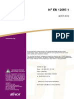 NF en 12697-1 (2012-08)-Teneur en Bitume