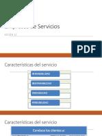 control de gestión de servicios