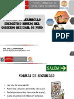 Políticas de Desarrollo Energético Minero Del Gobierno Regional de Puno