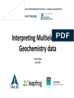 Lithogeochemistry Interpretation