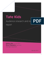 Tate Kids Audience Research and Evaluation.pdf