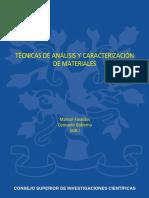 Tecnicas de Analisis y Caracterizacion de Materiales