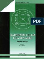 Frances Amelia Yates - Raimondo Lullo e la sua arte. Saggi di lettura-Antonianum (2009).pdf