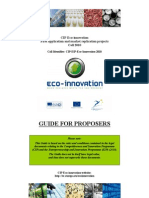 Guide Proposers 2010
