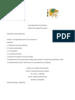 Reporte Unidad 1 Analisis de Circuitos Electricos