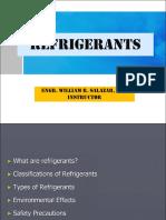 Refrigerants Lecture