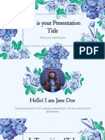 Elyse Free Presentation Template