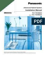 PA824 Install Manual