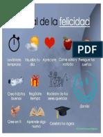 Afiche Ritual de La Felicidad